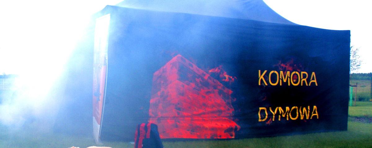 Mobilna komora dymowa